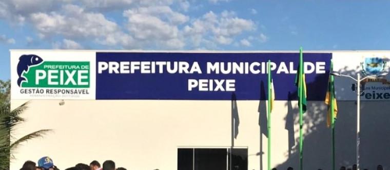 Município de Peixe, no sul do Tocantins