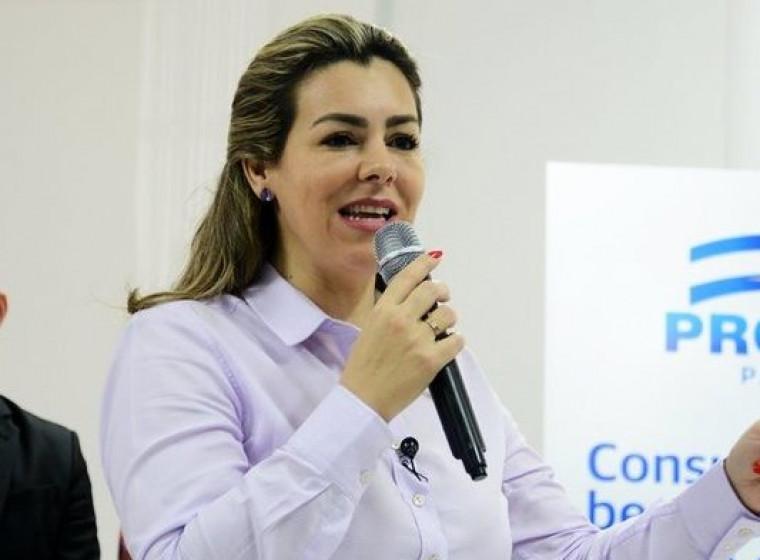 Cinthia Ribeiro (PSDB) é candidata à reeleição em Palmas