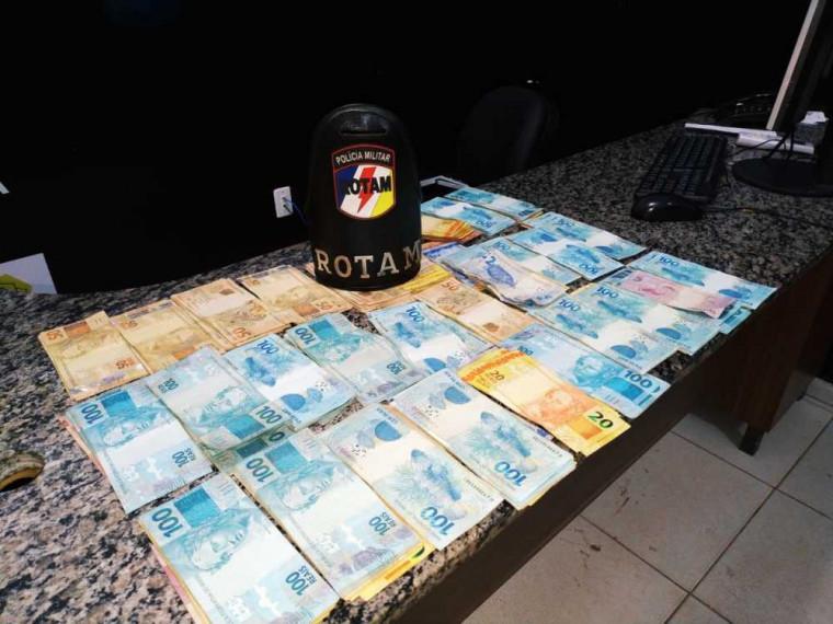O suspeito confessou o crime e informou a polícia que o dinheiro estava escondido em um hotel
