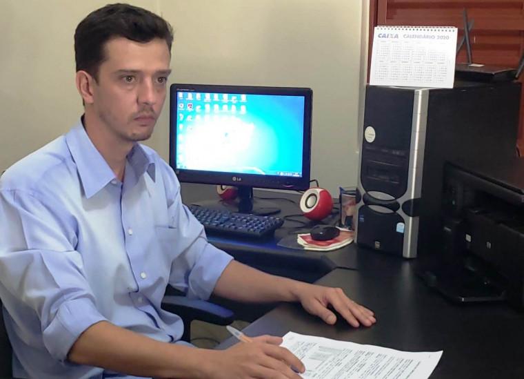 Pré-candidato a prefeito de Natividade, Thiago Jayme