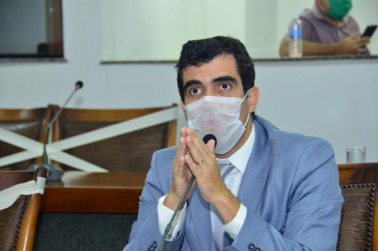 Deputado estadual Ricardo Ayres está com coronavírus