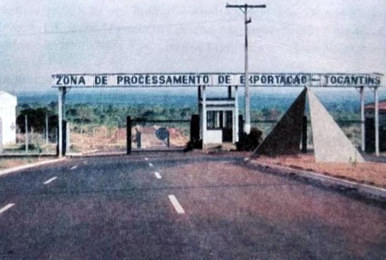 Em setembro de 1989 o Presidente José Sarney estava criando a ZPE de Araguaína