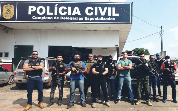 Operação da Polícia Civil