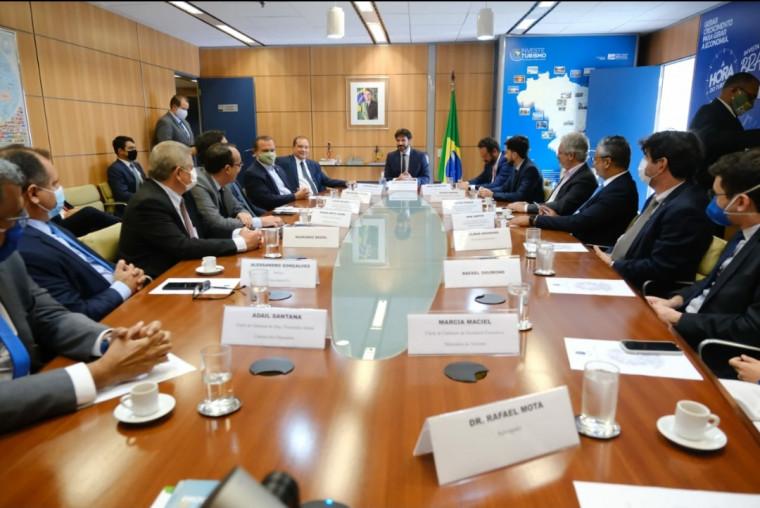 Solenidade de posse de Vicentinho Alves como secretário nacional
