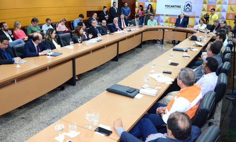 Reunião do Comitê de Crise