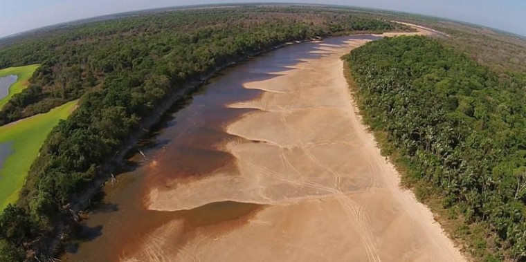 O rio que será recuperado é o Javaés