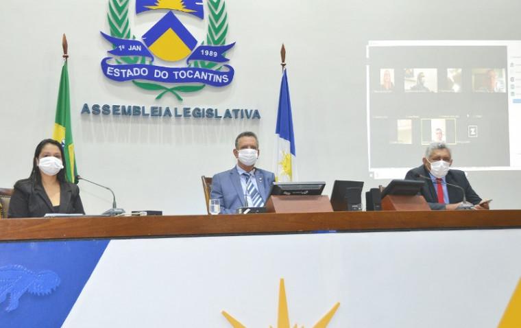 Votação do decreto de calamidade pública