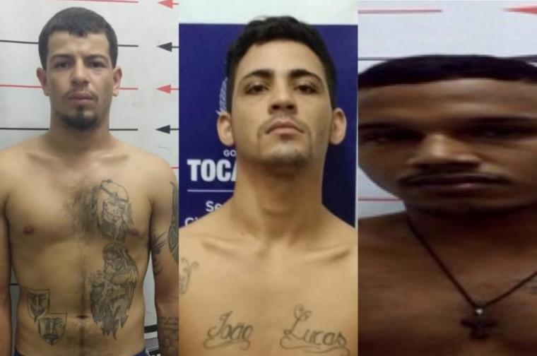 Três fugitivos da Casa de Prisão Provisória de Guaraí