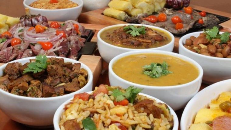 Serão disponibilizadas 3 categorias: sobremesas, refeição/petisco e café da manhã/lanches.