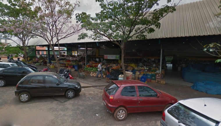 Crime foi praticado perto do Mercado Municipal