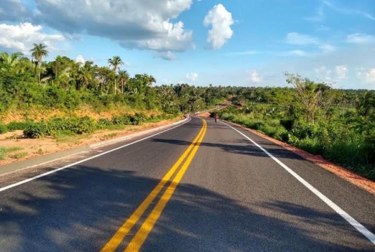 O asfalto novo vai beneficiar diretamente os moradores de Tocantinópolis