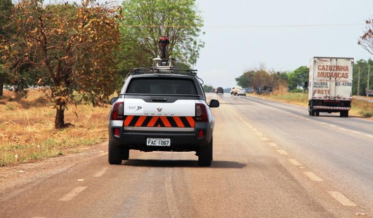 Veículo percorreu todas as rodovias estaduais pavimentadas