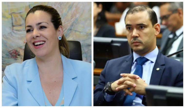 Cinthia e Vicentinho trocaram farpas nas redes sociais