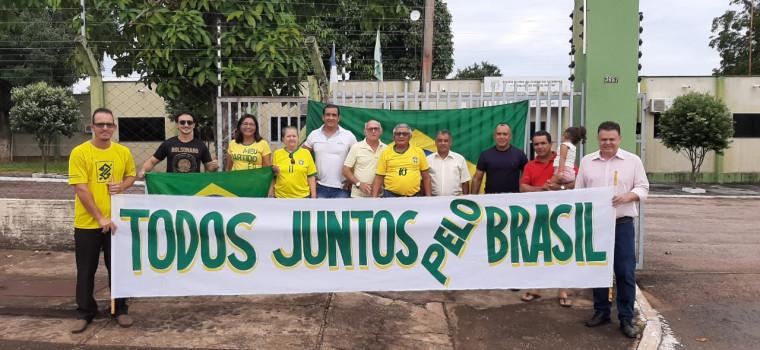 Ato em Guaraí reuniu poucas pessoas