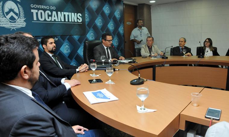 A reforma foi apresentada nesta sexta-feira, 1º de fevereiro, na sala de reuniões do Palácio Araguai