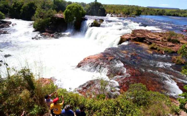 Cachoeira da Velha, no Jalapão