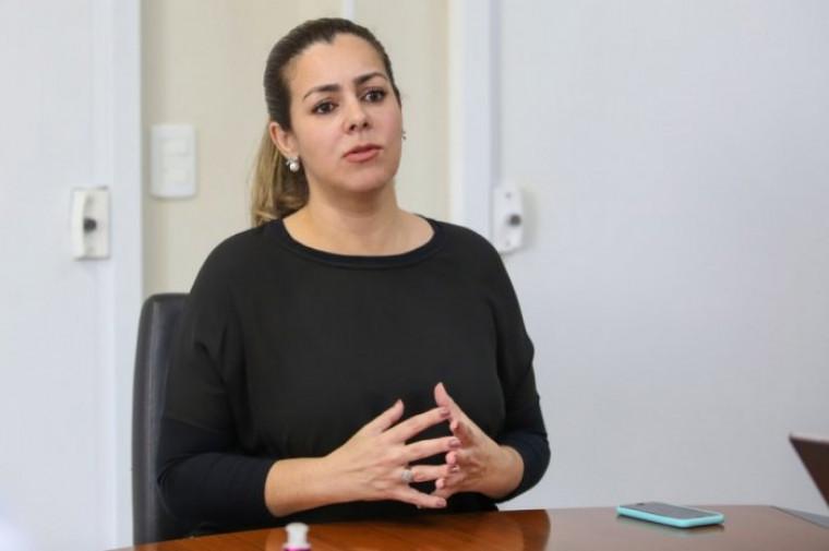Prefeita Cinthia Ribeiro (PSDB), gestora da Capital