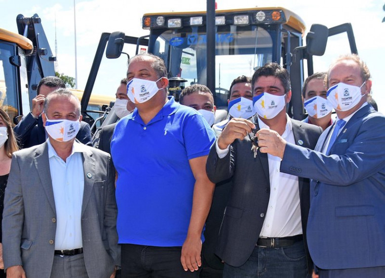 Solenidade contou com o Ministro do Desenvolvimento Regional, Rogério Simonetti Marinho