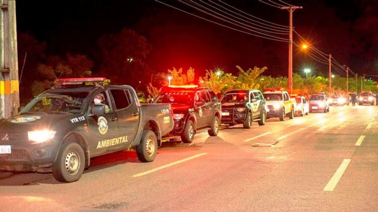 Forças de Segurança fiscalizam cumprimento de decretos em Palmas