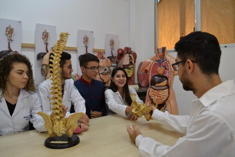 O curso de medicina é em Palmas e Araguaína