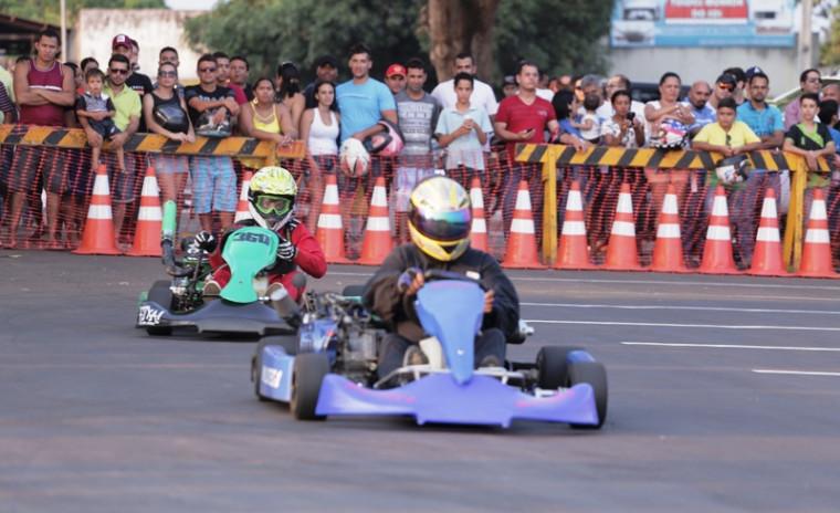 Campeonato de kart será na Via Lago