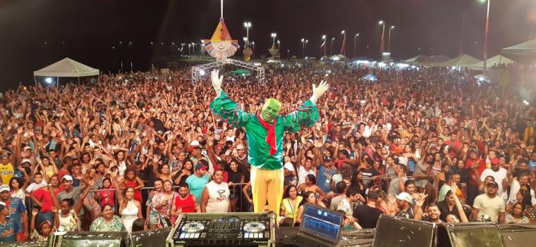 DJ Máskara em um dos shows