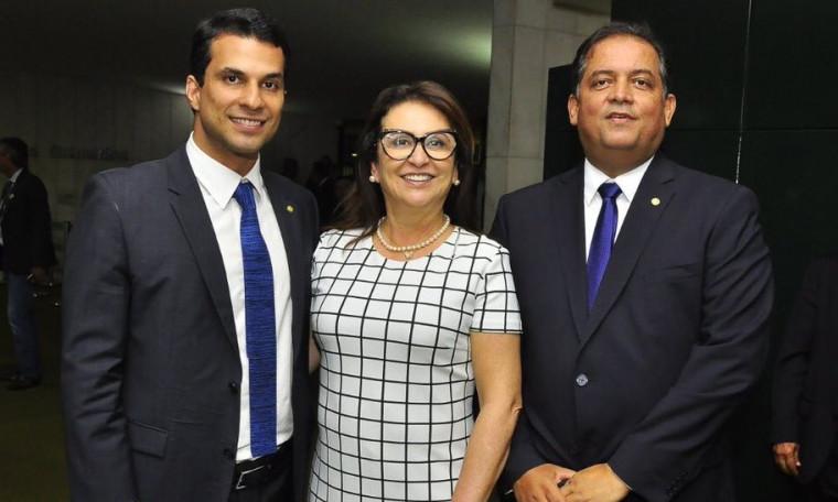 Três senadores do Tocantins