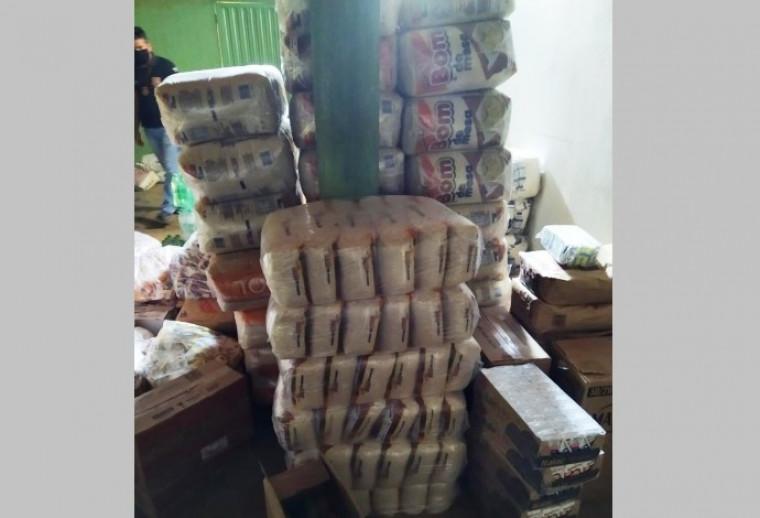 Comerciante estava vendendo o arroz