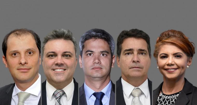Inicialmente serão escolhidos três entre os cinco candidatos