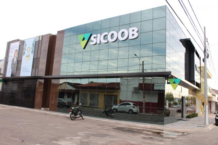 Agência do Sicoob em Gurupi, no sul do Tocantins
