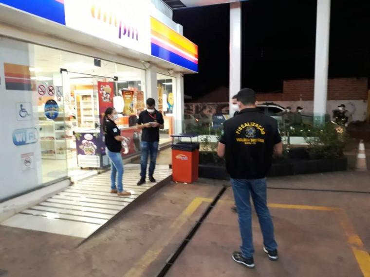 Forças de Segurança do TO fecharam conveniência durante fiscalização