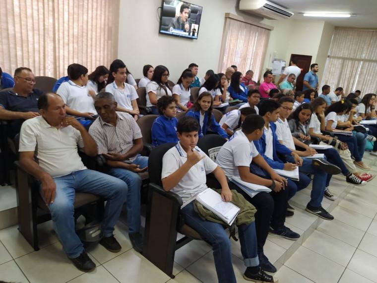 Alunos da Escola SESI de Araguaína