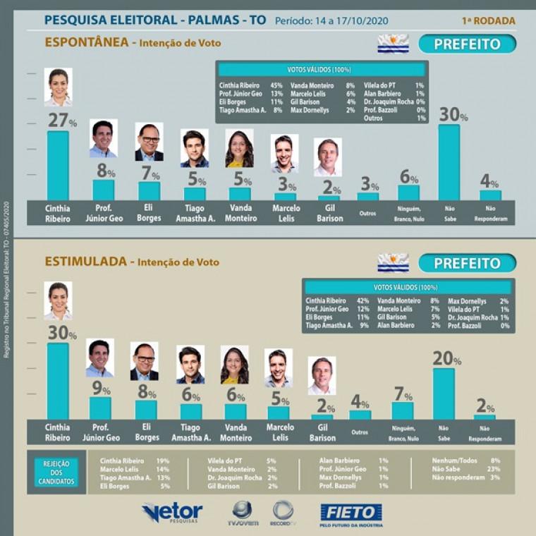 Pesquisa Fieto/Vetor em Palmas