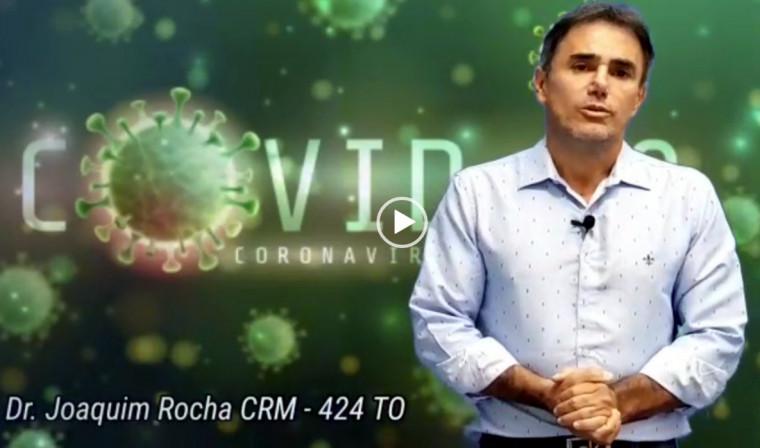 O médico justificou a postagem dizendo que o vídeo não promete a cura para o coronavírus