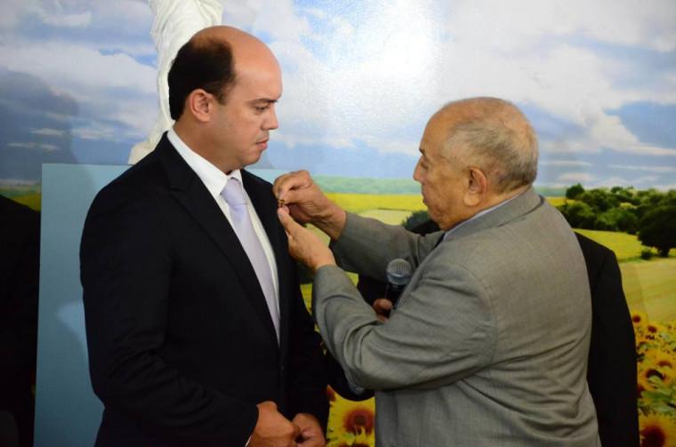 Ex-governadores Siqueira Campos e Sandoval Cardoso