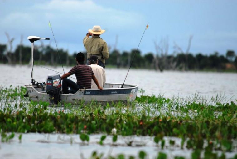 A pesca esportiva é permitida