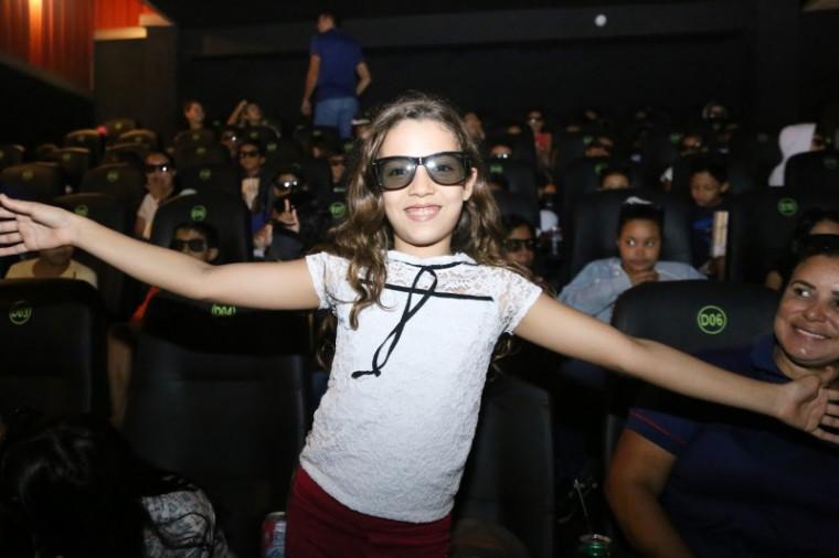 Edilana Silva, de 9 anos