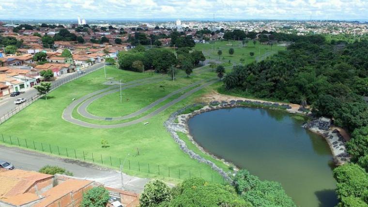 Os parques São Miguel e Raizal contarão com área de lazer e equipamentos públicos