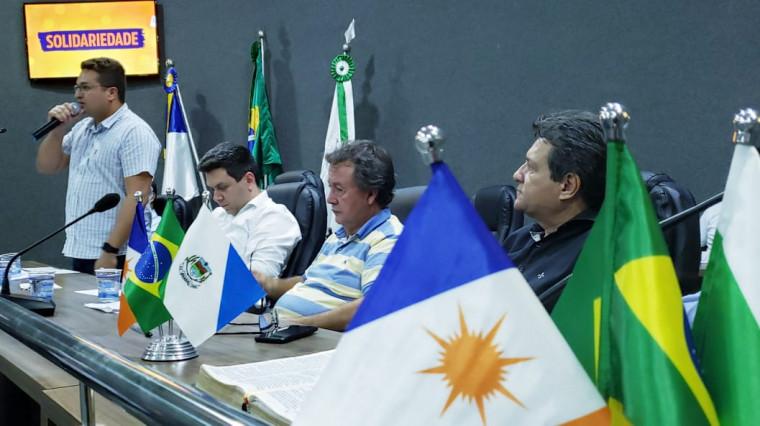 Deputados federais e estaduais do SD estiveram no evento