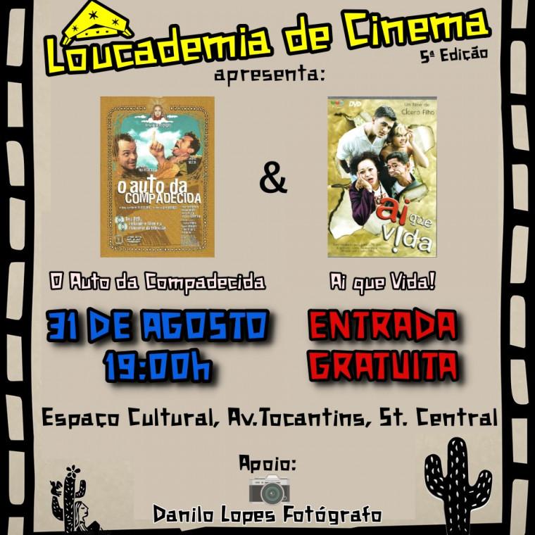 """Serão apresentados filmes com o tema """"Cinema Nacional e Filmes sobre o Nordeste Brasileiro"""""""