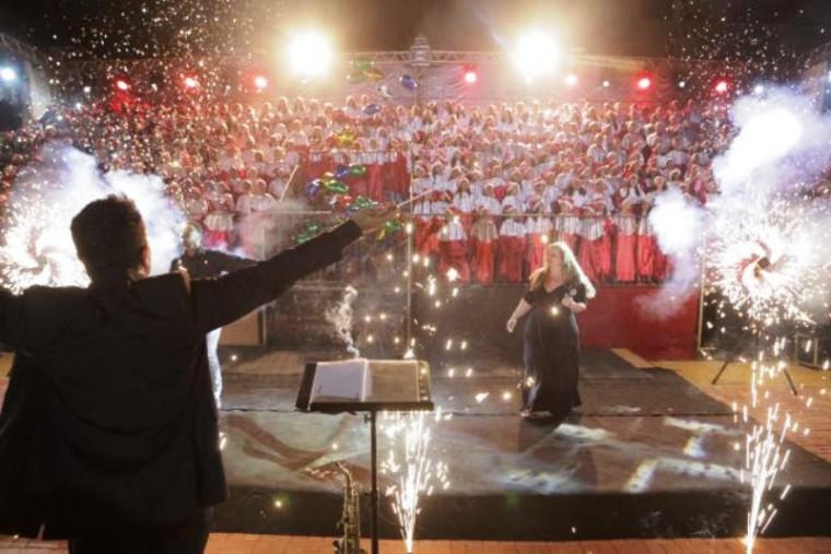 A cantata será na Praça das Nações