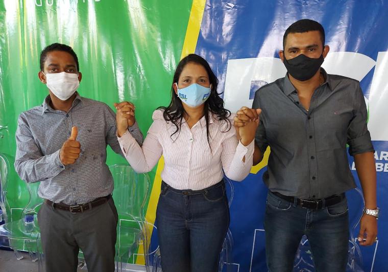 Deputada Vanda Monteiro participa de convenções do PSL