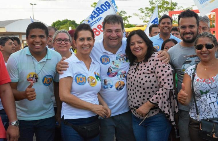 A caminhada percorreu as ruas de Araguaína
