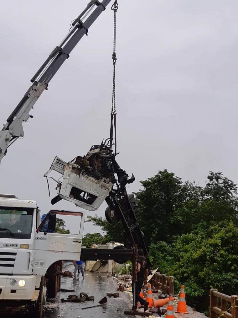 O acidente ocorreu em Colinas