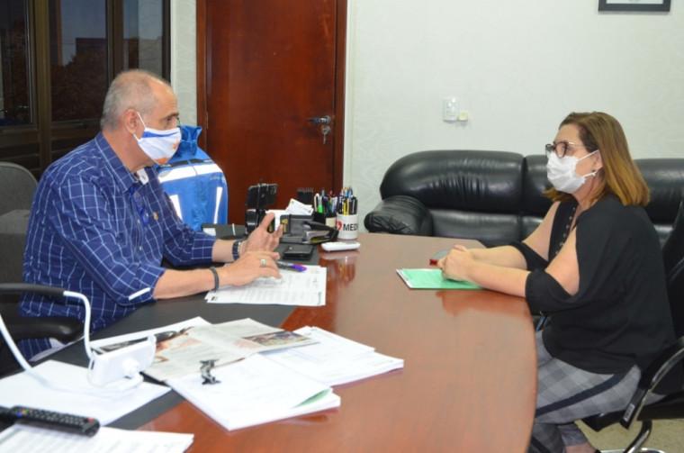 Durante o encontro os gestores discutiram a implantação do hospital de campanha na capital