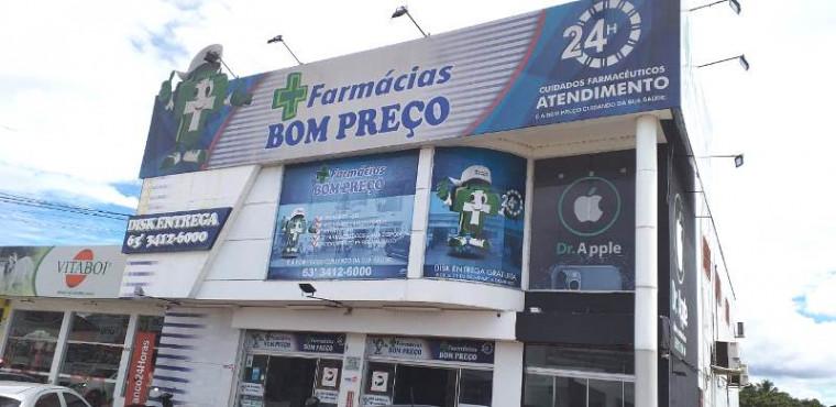 Farmácia autuado na Avenida Cônego João Lima