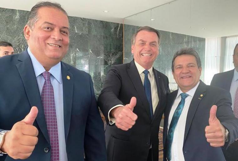 Eduardo Gomes, Bolsonaro e Osires Damaso