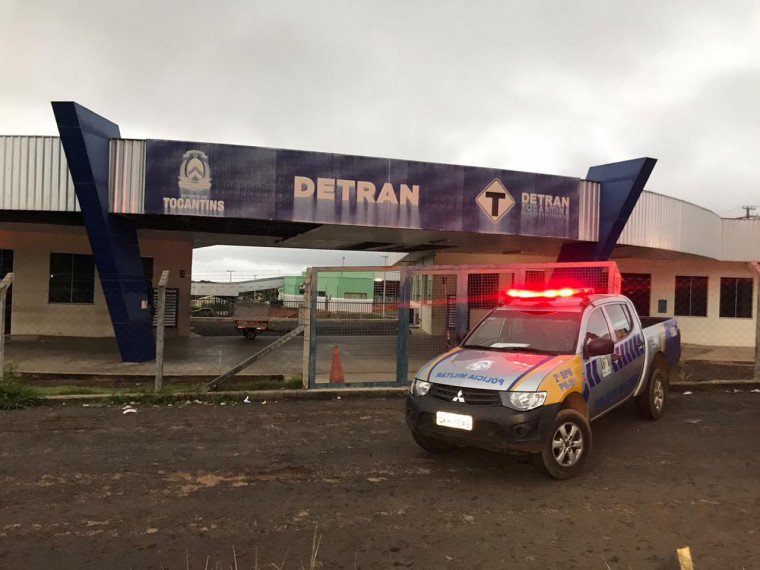 Busca e apreensão na sede do Detran em Araguaína