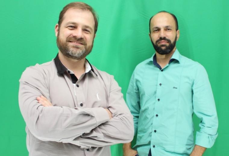Médico Hugo Mendes e físico André Martins