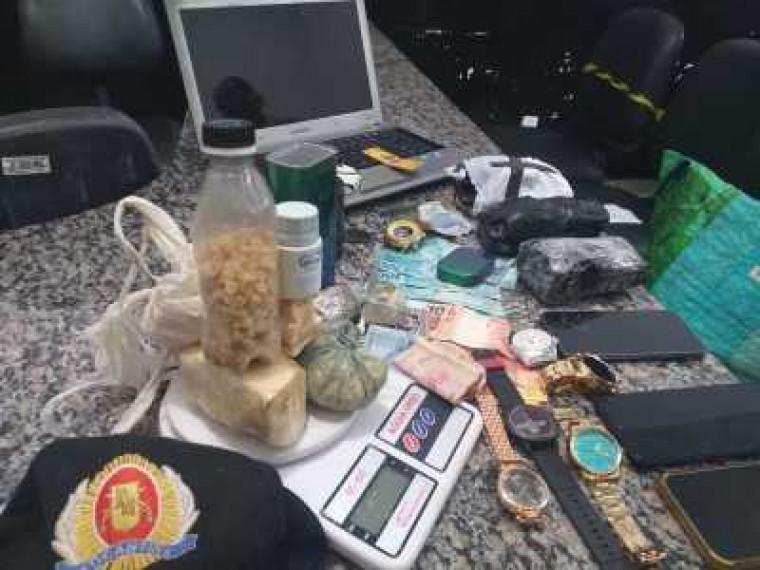 PM atua no combate ao tráfico de drogas na capital